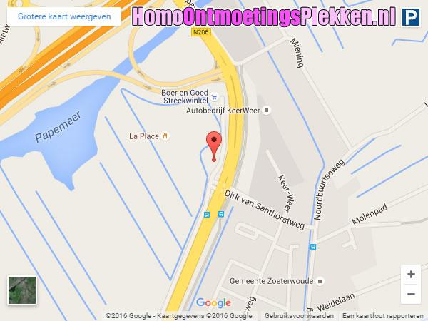 Carpool Papeweg (Zoeterwoude, Zuid-Holland)